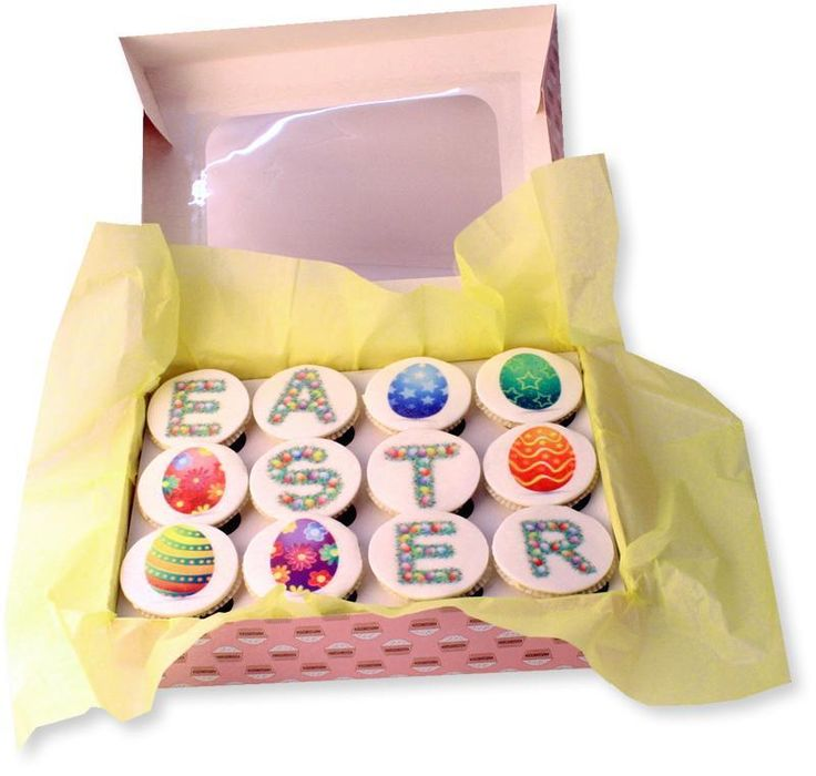 31 best easter gift delivery uk images on pinterest gift these easter cupcakes make a perfect gift to send to friends or family anywhere in the uk each box is made fresh just prior to delivery negle Image collections