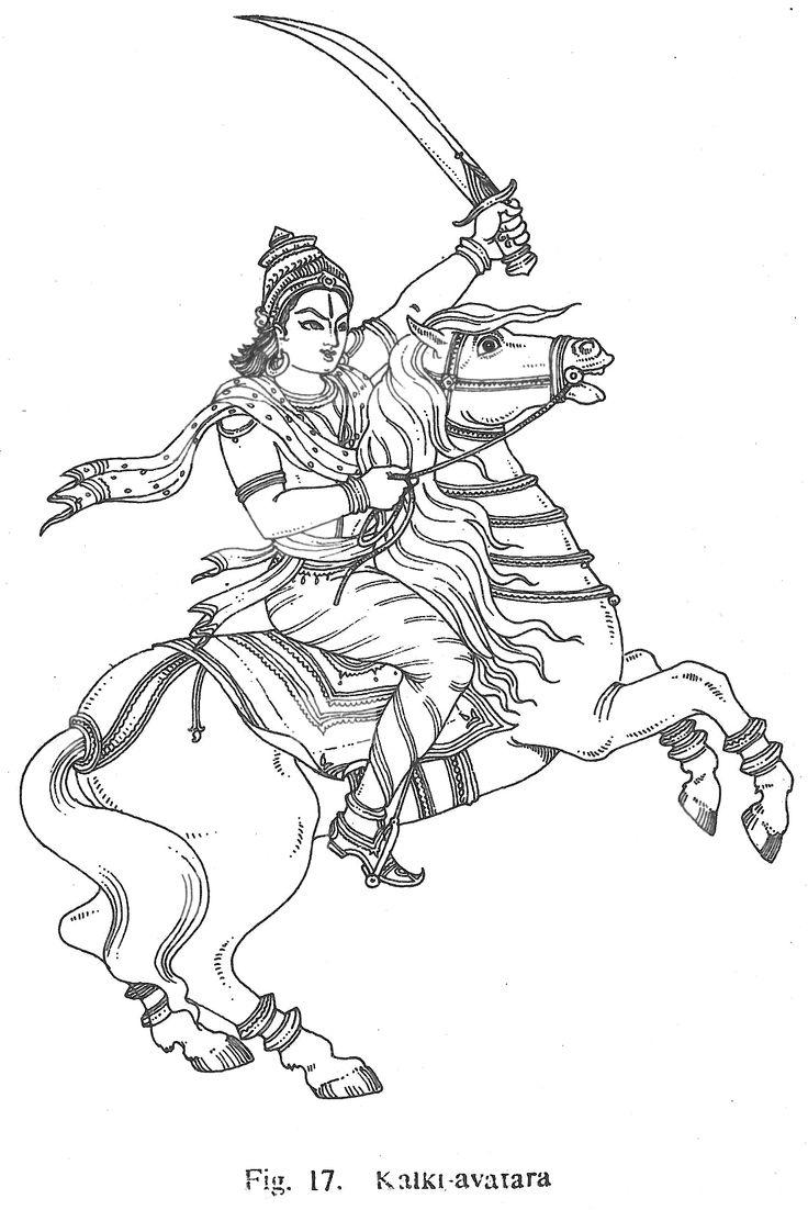 lord vishnu coloring pages - photo#26