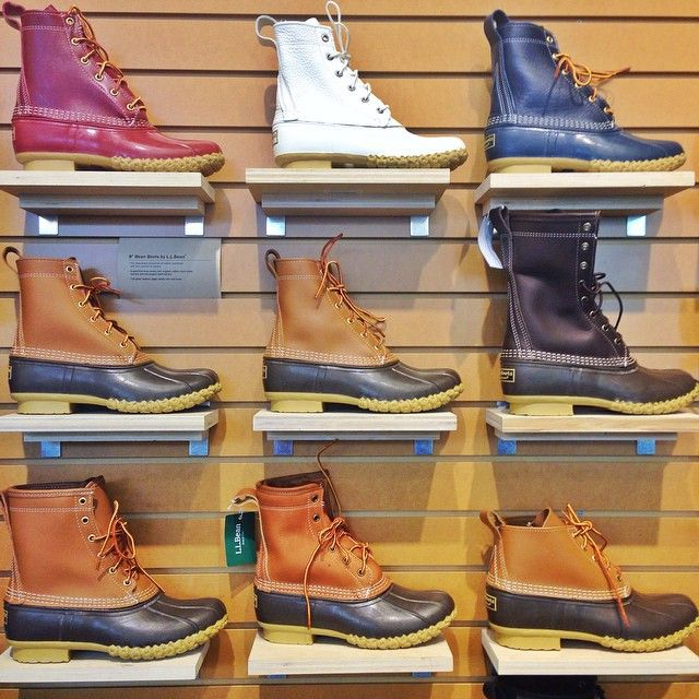 """LL BEAN 8"""" Thinsulate Duck Boots ..Covering the Bases 