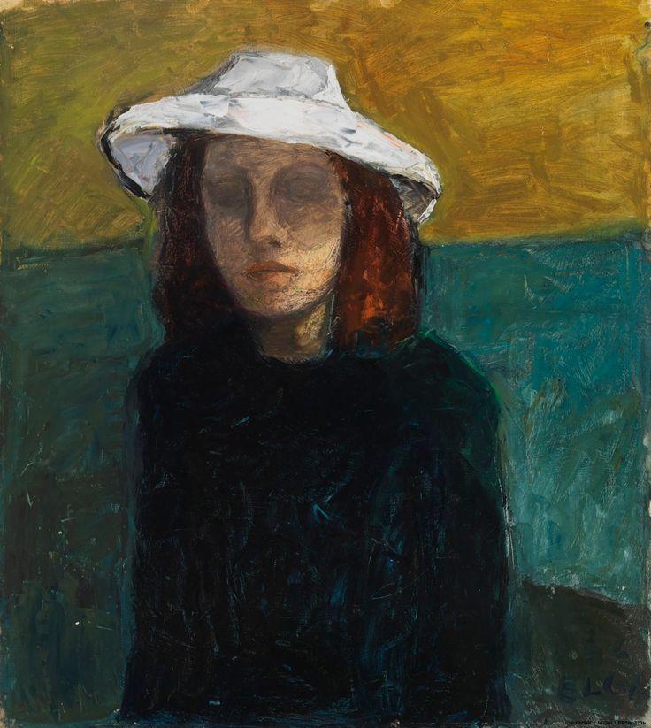 Kansallisgalleria - Taidekokoelmat - Omakuva Elga Sesemann 1946