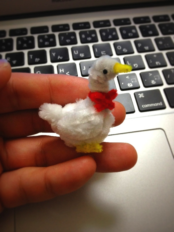 Duck by pipe cleanerCrafts Ideas, Diy Crafts, Pipe Cleaners, Ducks Pipe, Clearner Art, Crafty Crafts, Cleaners Crafts, Diy Crafty, Cleaners Ducks