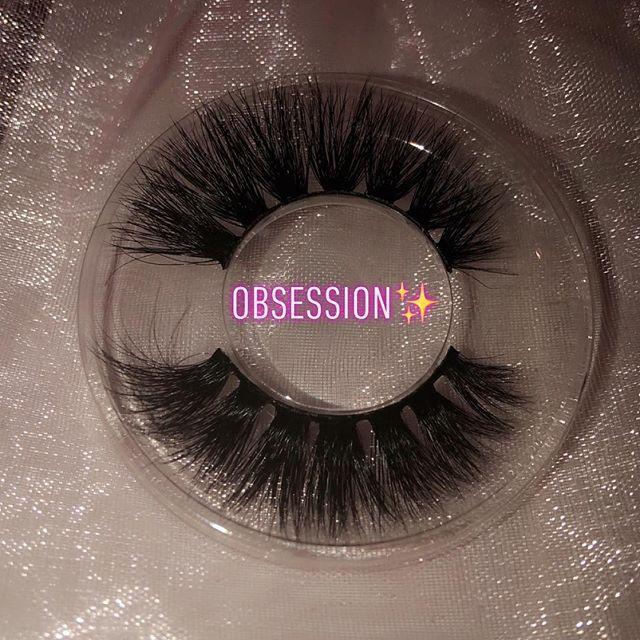 After Dark - Lashes, Mink eyelash extensions, Makeup brush set