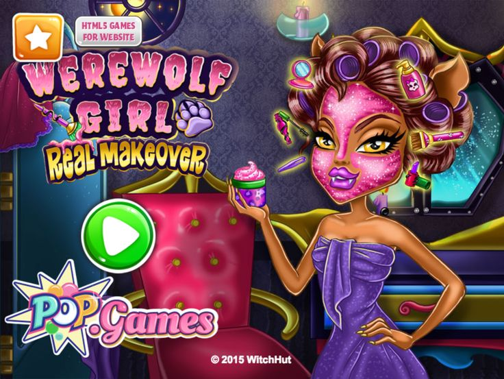 Give this Werewolf Girl a total makeover! #mobilegames