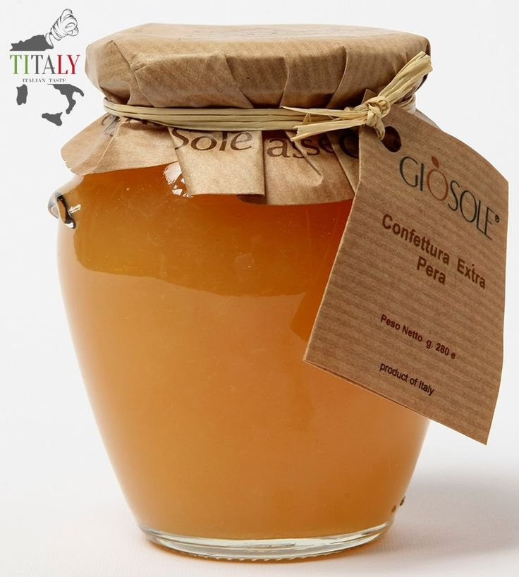 JAM PEAR   This delicious and fragrant extra jam Williams pear is ideal for breakfast or for the preparation of pies.