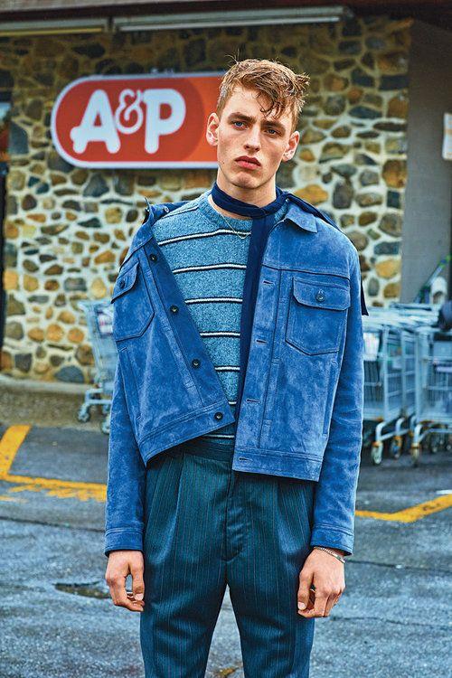 Erik Fallberg by Matthew Kristall - T Magazine, Fall 2014