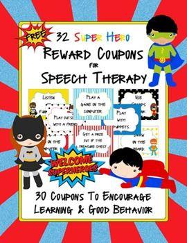 Superhero Reward Coupons (Freebie!) #superheroclassroompintowin
