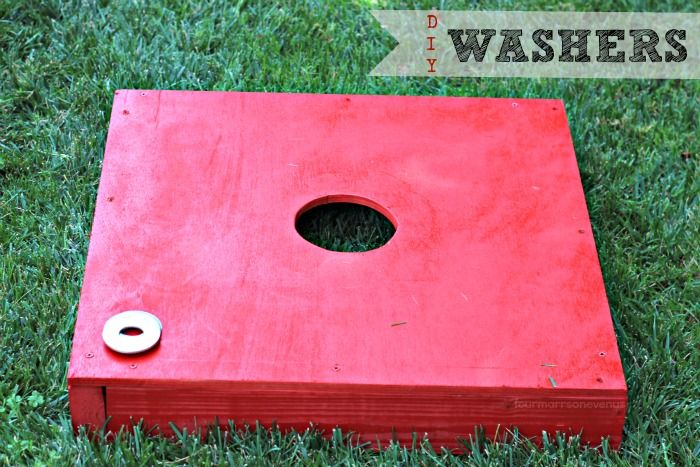 Four Marrs and One Venus: How to build Washers Game & $200 Home Depot Giveaway!