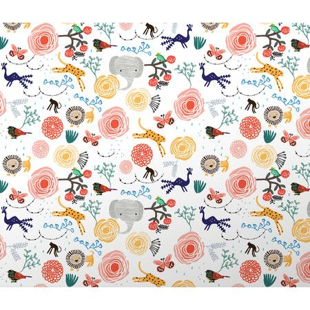 Found it at Wayfair Wee Gallery Jungle Wallpaper http
