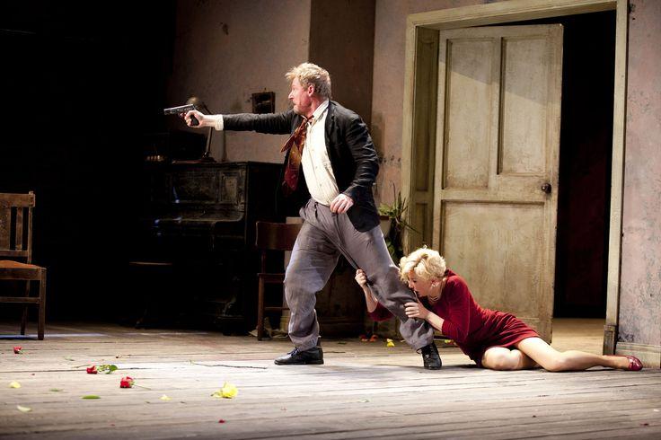 Richard Roxburgh as Vanya and Cate Blanchett as Yelena in Sydney Theatre Companys Uncle Vanya Photo by Lisa Tomasetti – Northern Virginia Magazine