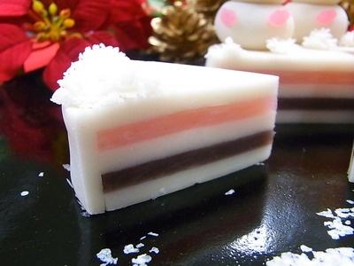 Doll Festival Japanese sweet cake
