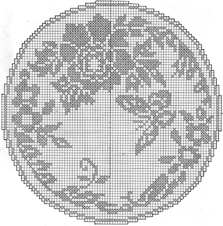 Filet Crochet Patterns : filet crochet pattern, Crochet - Filet Pinterest