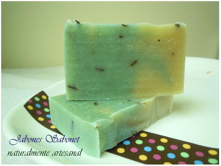 Jabón de romero, cuidado Naturalmente artesanal para pieles grasas y con acné