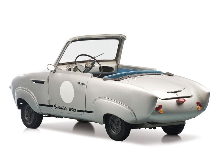 1957 Biscuter 200-F 'Pegasin'                                                                                                                                                                   Estimate:$35,000-$45,000 US
