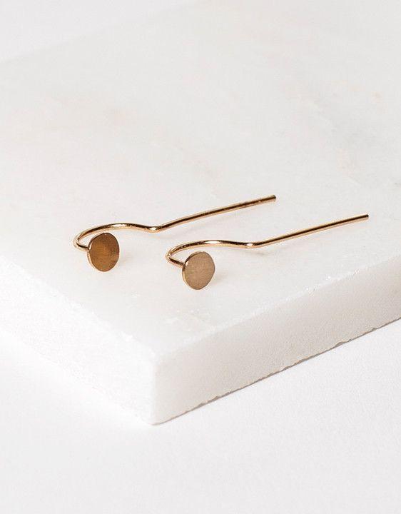 Minimalist Earrings by ARO