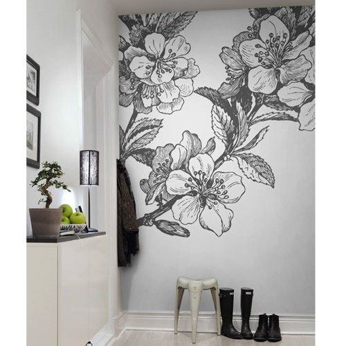 Best 25 flower mural ideas on pinterest murals for Mural flower