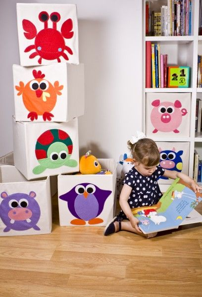 ideas: kids' toys storage. Use felt and glue it on. Could do this with a car or train so kids see a visual