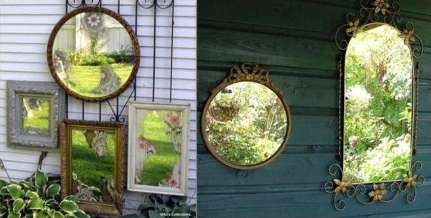 Miroir jardin jardin plantes et d co pinterest for Deco jardin pinterest