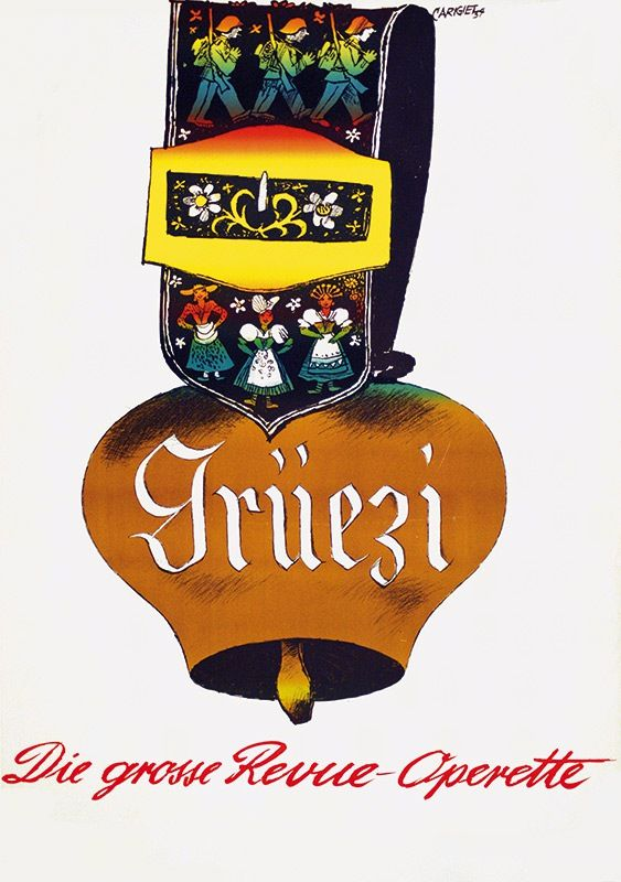 Carigiet Alois - Grüezi Revue Operette