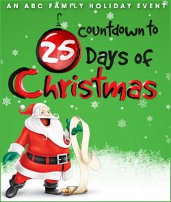 ABC Family 25 Days of Christmas Schedule 2012. Will come in handy!