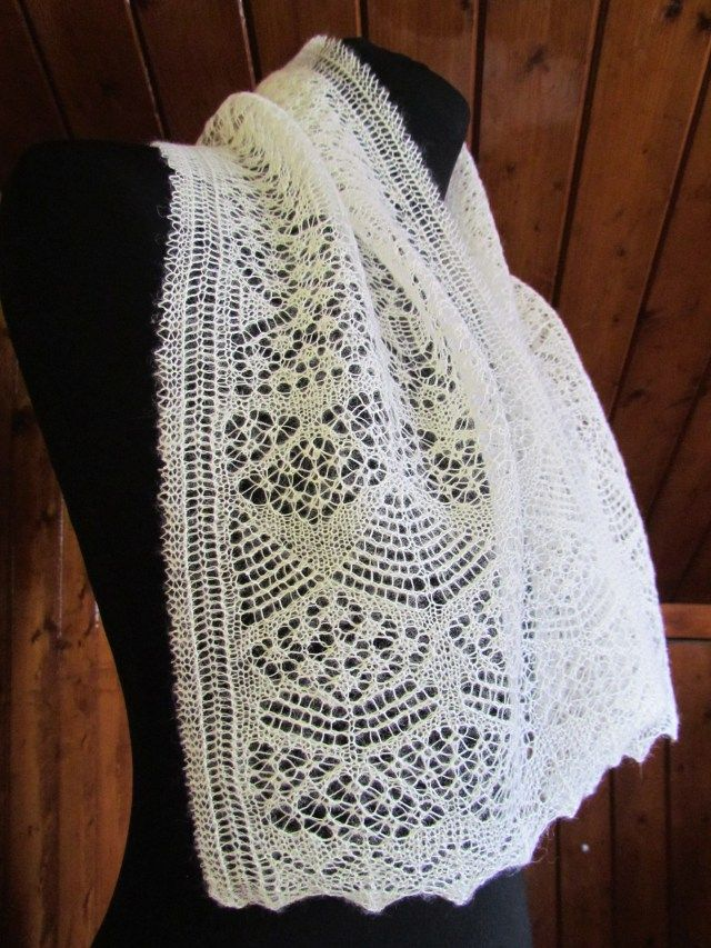 28 best images about Shetland lace on Pinterest