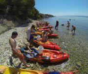 Kajaktour ab #Split #Kroatien