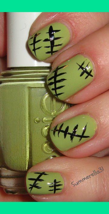 Monster High Frankie Stein Nails | Summer A.'s (summerella31) Photo | Beautylish
