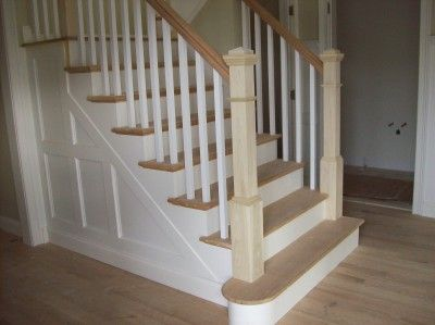 Wood Baers 1 25 Square For The Home Pinterest Stairs And Wooden