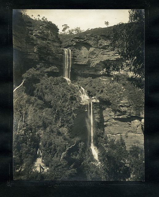 Katoomba Falls                                             From an album of Harry Phillips  photos