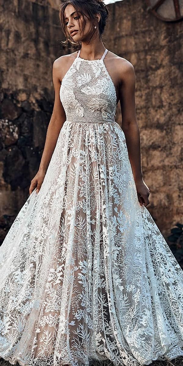 Best Wedding Dresses Collections For 2020 2021 Halter Wedding Dress Best Wedding Dresses Wedding Dresses Simple