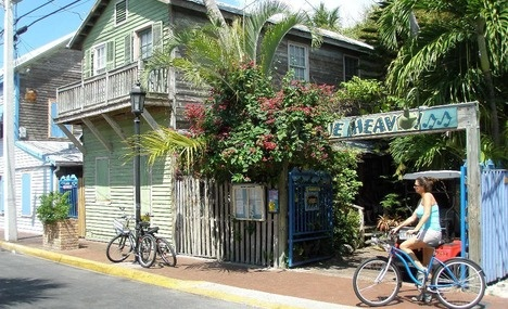 Great restaurant! Blue Heaven - Key West, Florida