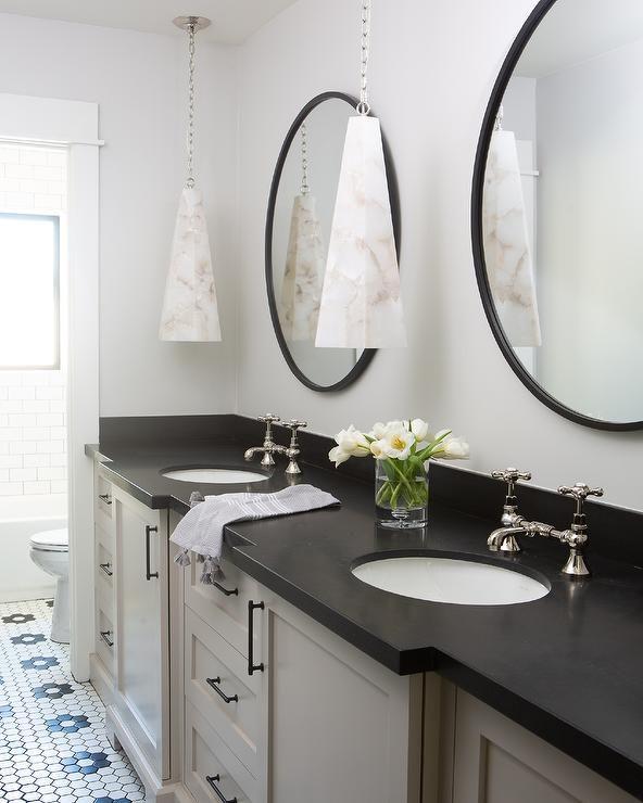 50 Favorites For Friday Black Bathroom Oval Mirror Bathroom