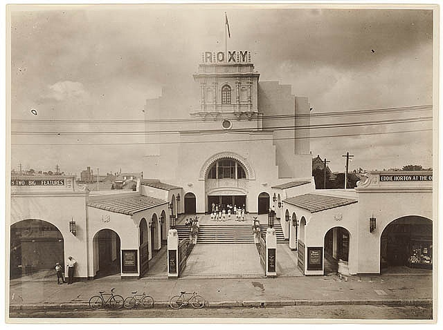 Roxy, Parramatta, c. 1930s, by Sam Hood - is still there and hasn't changed. Parramatta, N.S.W Australia.