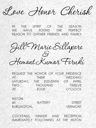 Invitation Wording - Pick your invitation text, select the layout ...