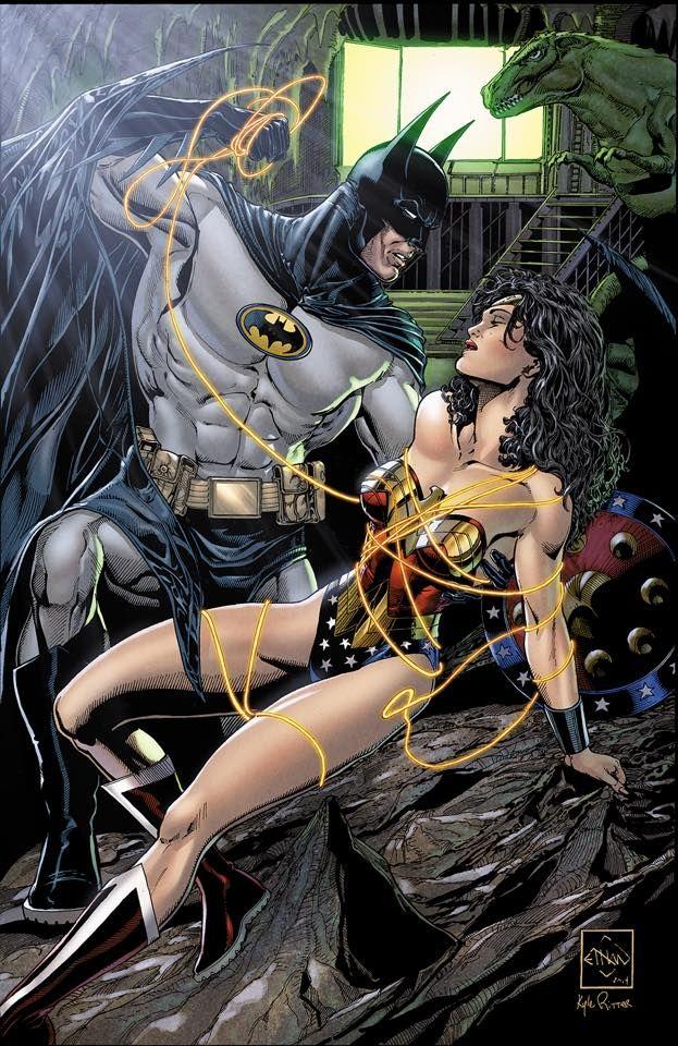 Batman and Wonder Woman by Ethan Van Sciver *