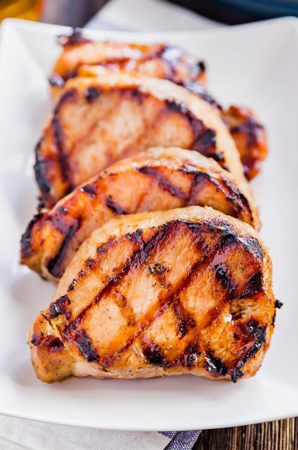 Brown Sugar Bourbon Pork Chop Marinade