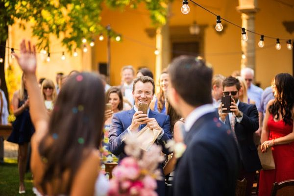 Ceremony in #tuscany with our lighting service Photo by #fabiomirulla  #musicandcoitaly