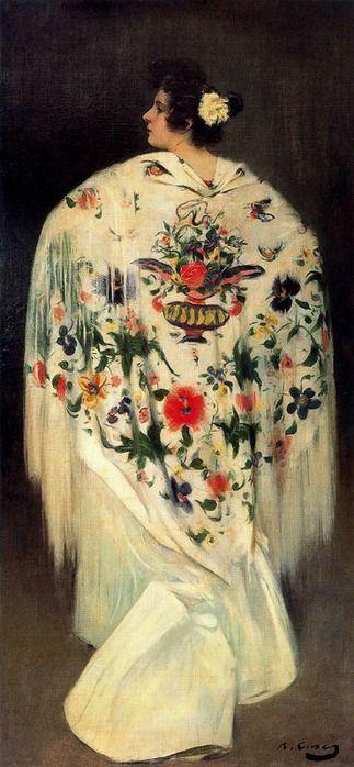 Ramon Casas Painting