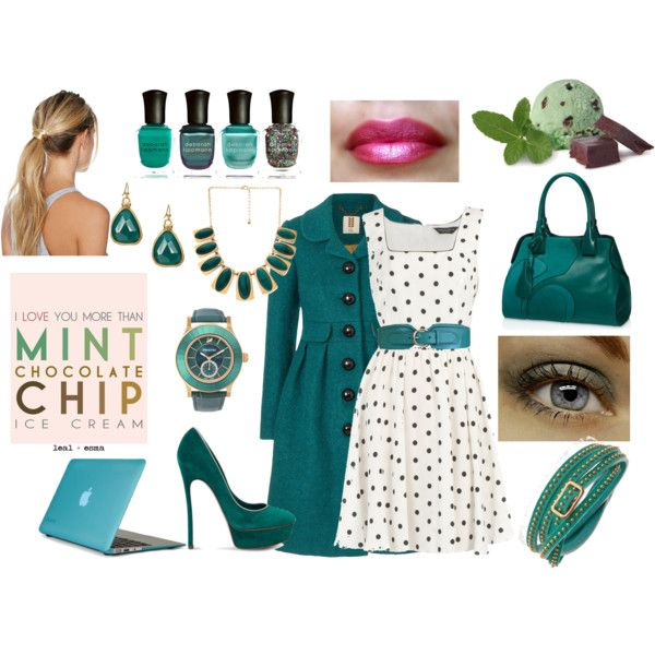 Felicity Smoak Inspired - I love the neckline on this dress and the mint green.