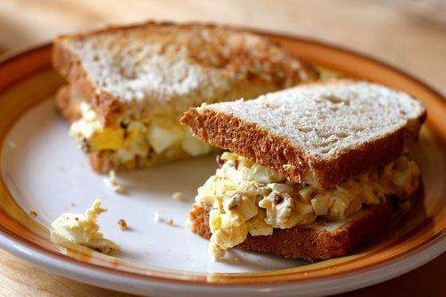 Sun-Dried Tomato Egg Sandwich Recipe — Dishmaps