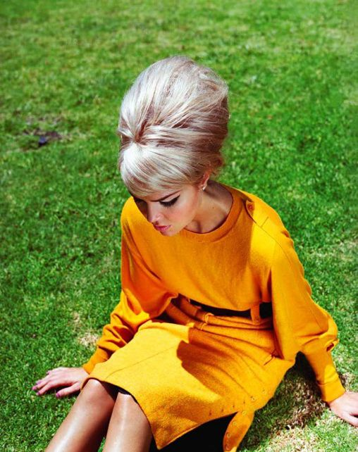 Bee Hive Hairstyle