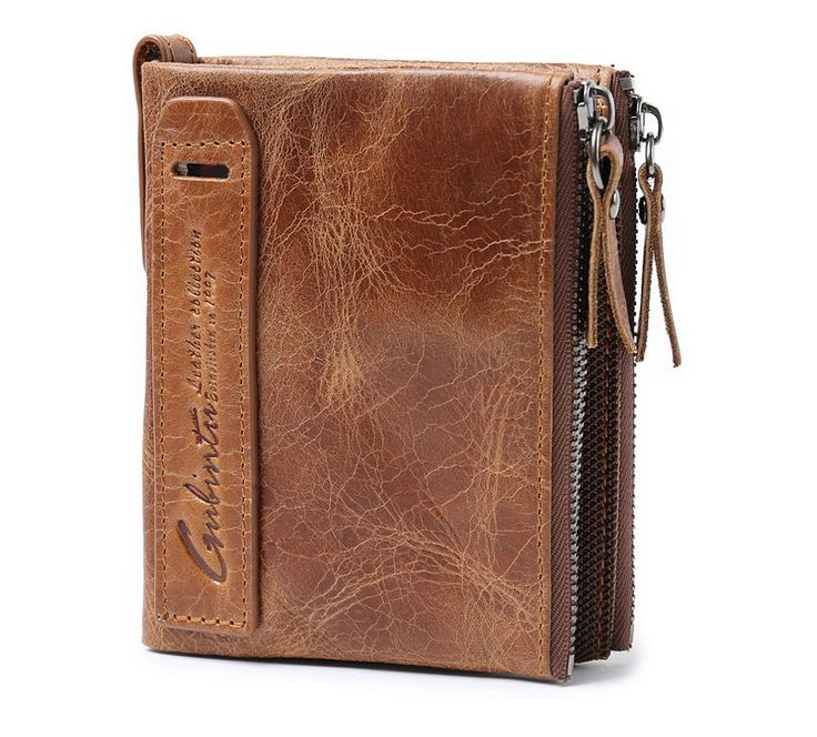 SAVE $20 + FREE SHIPPING NOW!   Genuine Leather Men Double Zipper Wallet    Material: genuine leatherSize: 9.5*12*2.5(CM)Color: CoffeeFeatures:Large Capacity,Versatile,Men,Card Organizers,Zipper Pouch for Coin.Occasions:Daily,Casual,Travel,Business,Gifts etc  Limited Stock! Sold Fast! * This item should arrive in 2~3 weeks from the purchase date * Guaranteed safe and secure checkout via: Paypal | VISA | MASTERCARD