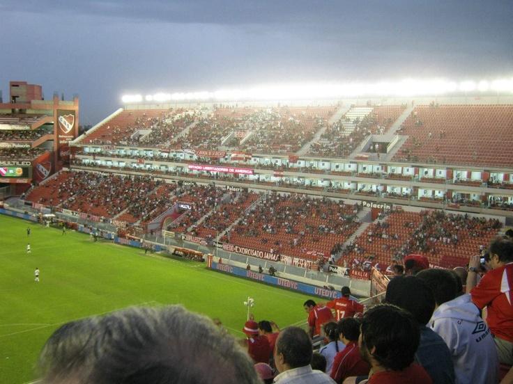 #Independiente - ? at Estadio Libertadores de America, Avellaneda, Buenos Aires, Argentina. #Groundcount: 44