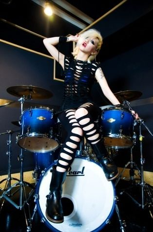 Re:NO Blue Pearl Drumset - Aldious.jp  #drums