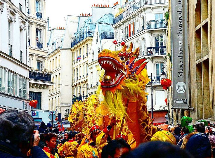 Chinese new year #celebration in #paris #france #eve #newyear #event #fete #festival
