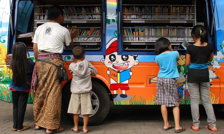 Minat Baca Masyarakat Indonesia Peringkat 60 dari 61 Negara