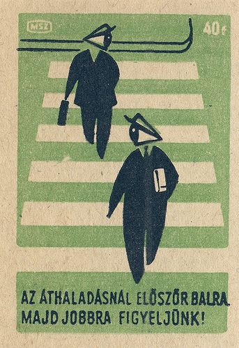 https://flic.kr/p/3J7ABu | hungarian matchbox label