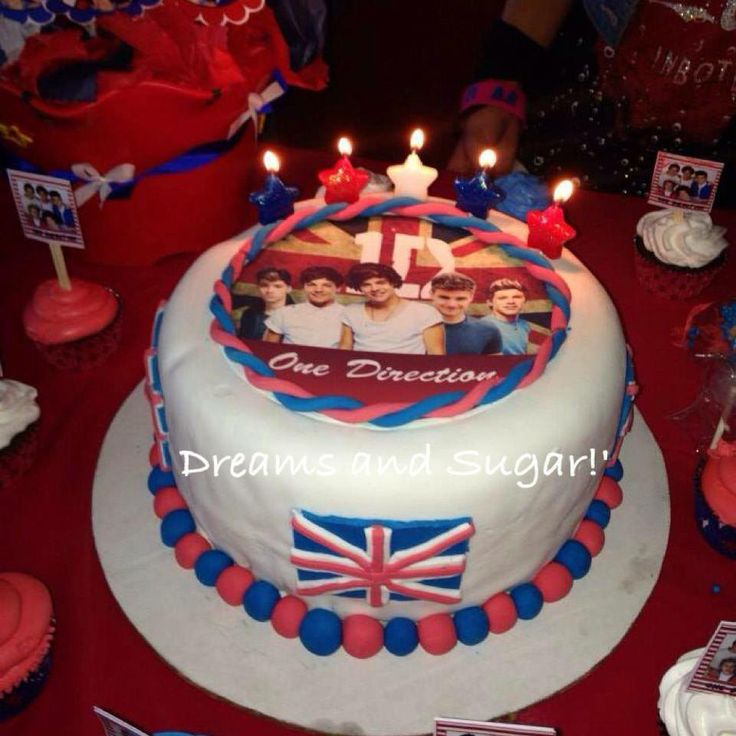 one direction cake .