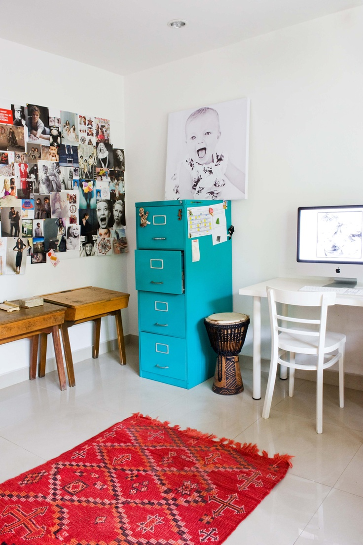 Work Space -- Rue Magazine (June 2012 Issue). Photography by Marjon Hoogervorst.