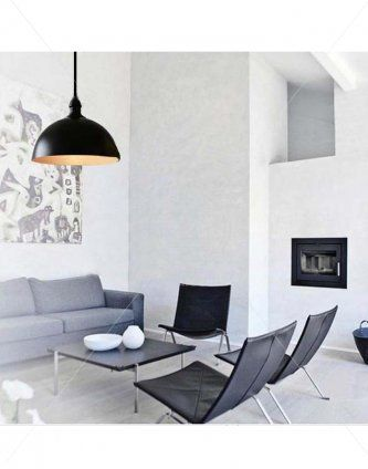 Domed Pole Pendant Light