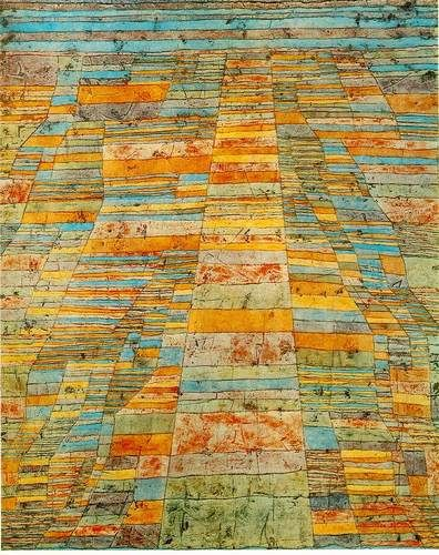 Highway and byways by Paul Klee